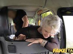 Fake Taxi blonde milf gets surprise anal sex