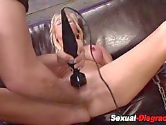 Bdsm milf fingered rough