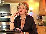 Unfaithful british milf lady sonia pops out her oversized br