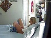 Daughter caught in Mom's bedroom.
