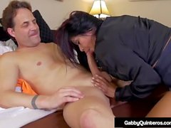 Mexi Milf Gabby Quinteros Fucks Her Boss While Wife Is Away!