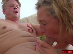 hot milf blowjob with cumshot segment movie 1