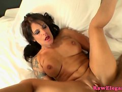 Assfucking euro milf pounded and sucks