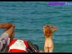 Naughty NUDE Beach Amateurs Babes Spy Video