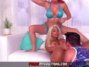 Hot Anal Threesome In L A - Pegas Productions