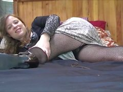 Solo prior to FemDom the Boss Erin Electra Electrachrist