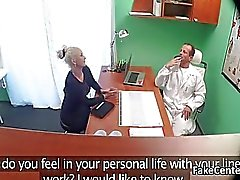 Busty milf fucked at doctors office
