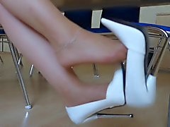 Feet in Nylon - Video 15
