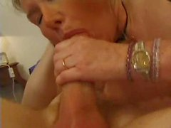 Slender hairy milf and her young lover