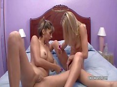 lesbo milfs jen and veronica sharing toys