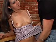 Tight Raven Haired Beauty Gets Sexed