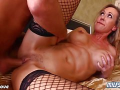 Brandi Love talking dirty while getting fucked