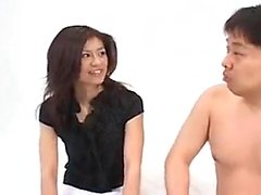 Sweet Japanese wife has a horny guy satisfying her desires