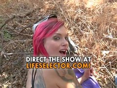 Cock Riding Champion - Anna Bell Peaks