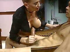 Sleek Hair Blonde Greedy Cougar