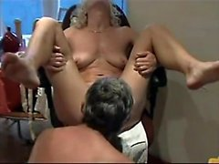 Mature milf caught toying in the bathroom