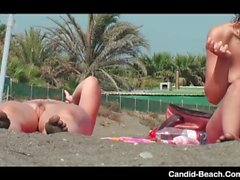 Beach Voyeur Video Spycam HD Amateur
