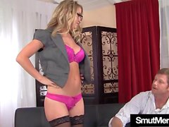 Sexy milf Casi James gets fucked
