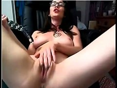 Solo fetish hoe toys her pussy