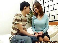 Mina Toujou sexy mother enjoys part1