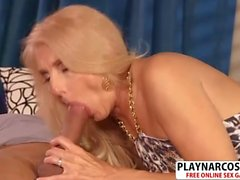 Voluptuous Not Mom Chery Leigh Riding Cock Well Tender Son