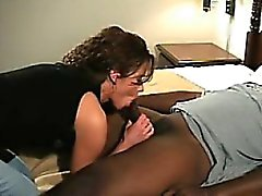 Ravishing brunette wife with a hot ass goes wild for a big