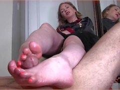 Mistress T FootJob