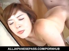 Japanese AV Model has hot tits sucked and slit licked and fucked
