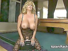 Horny blonde milf gets horny part5