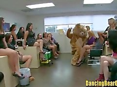 Crazy Office Party with Strippers and Horny Chicks