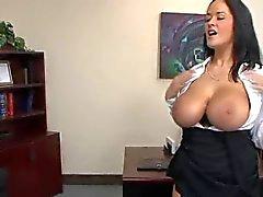 Big Boobs at work