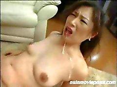 Japanese Milf GangBang Bondage