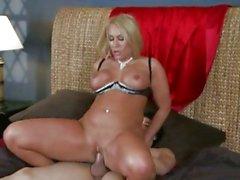 Randy Mellanie Monroe gets slammed up her pantie pot
