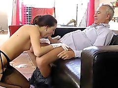 Heeled whores swap cum