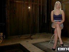 hot pornstar bdsm bondage with cumshot feature movie 1