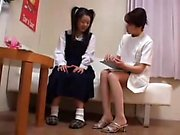 Asian teen is hot schoolgirl Ai Uehara in amateur POV