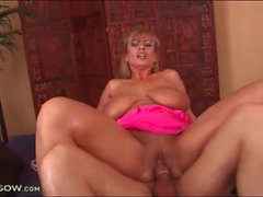 Big natural titties are tasty on cock riding mom