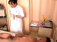 Nasty nurses gets horny and fucks