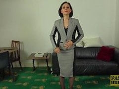 Kinky UK MILF Belle OHara submits to dom
