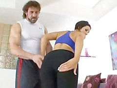 Smoking Hot Dylan Ryder Fucks Her Personal Trainer