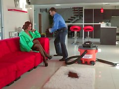 Veronica Avluv fucking the hoover salesman