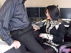 MILF Gets Facial At Job Interview