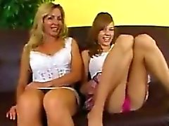 Mother And Daughter In Law Share A Cock