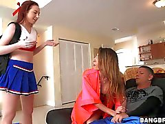 Zoe Parker shares dick with her dirty step mom