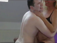 Busty Mature MILF Let Fat Young Boy Cum In Her Pussy