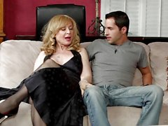 MILF Nina Hartley will fuck anyone she can