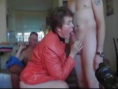Hot dutch woman gets fucked by 3 men