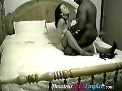 Black bull picked up from bar to fuck wife