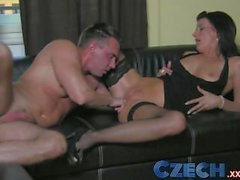 Czech Cocky stud gets put in his place by sexually dominating MILF