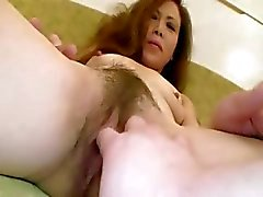 Asian milf fingered while taking bath and loves it